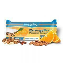 KEEPGOING BARRITA ENERGY FRUIT 40GR NARANJA