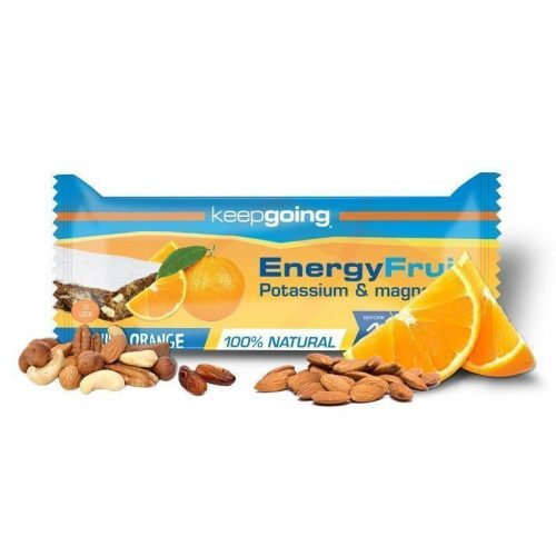KEEPGOING BARRITA ENERGY FRUIT 40GR NARANJA 2