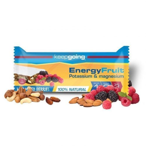 KEEPGOING BARRITA ENERGY FRUIT 40GR FRUTAS DEL BOSQUE 3