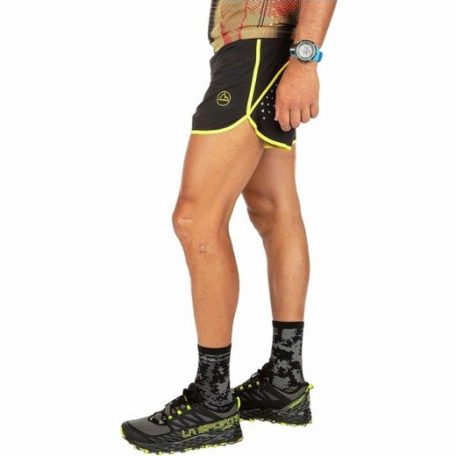 la-sportiva-BlackYellow-Tempo-Short