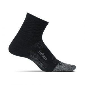 Calcetines Feetures Light Cushion Quarter Negro