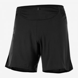 SALOMON SENSE SHORT. PANTALON TRAIL RUNNING