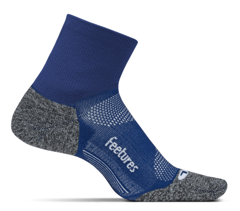 Calcetines Feetures Light Cushion Quarter Sapphire